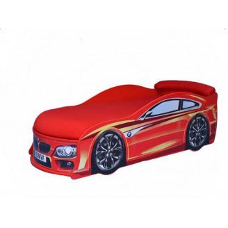 Кровать машина с матрасом AvtoUA BMW
