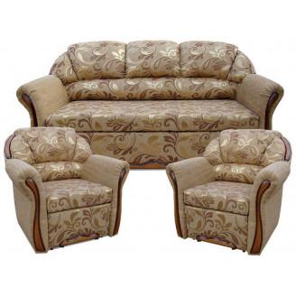 Комплект Вика Бостон 311 (с раскладными креслами)