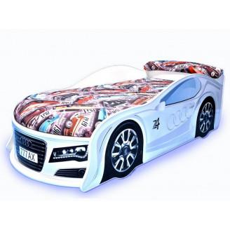 Кровать машина с матрасом AvtoUA Audi