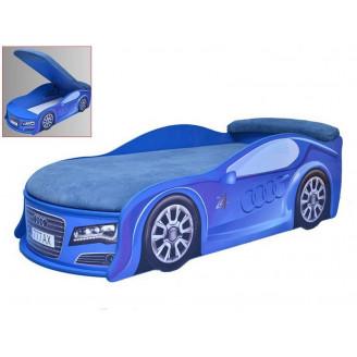 Кровать машина с матрасом AvtoUA Audi с механизмом