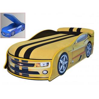 Кровать машина с матрасом AvtoUA Chevrolet Camaro с механизмом