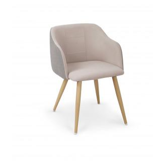 Кресло Halmar K-288 Светлый пепел/бежевый