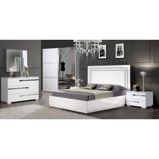 Спальня Слониммебель Венеция  +  шкаф-купе, белый