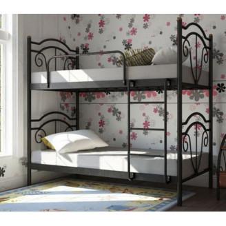 Металлическая двухъярусная кровать Металл-Дизайн Диана