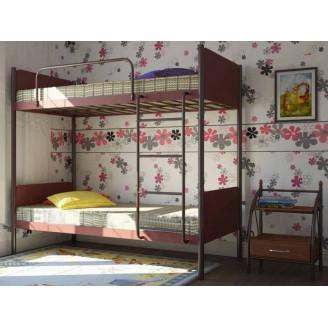 Металлическая двухъярусная кровать Металл-дизайн Арлекино
