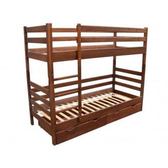 Кровать Микс Мебель Засоня (80*190) Орех темный