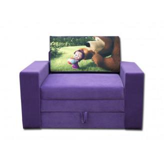 Детский раскладной диван Вика Марс мультик 80 (Выкатной)