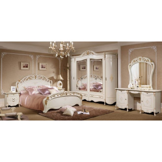 Спальня Слониммебель Аллегро 1Д1 белый