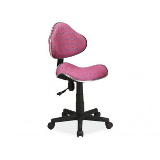 Детское кресло signal Q-G2 (розовый узор)