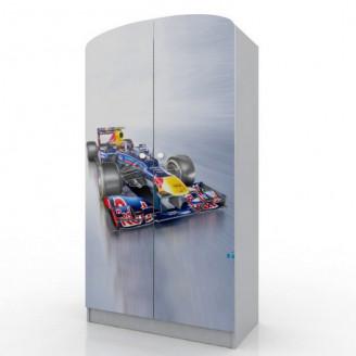 Шкаф платяной Вальтер Формула 1/100 с ящиком