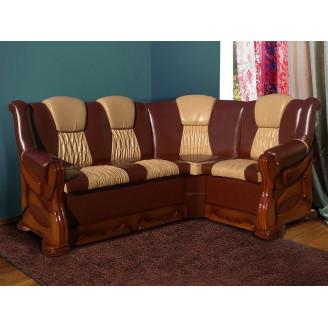 Мягкий уголок Микс мебель Каприз бук (175*130) Орех