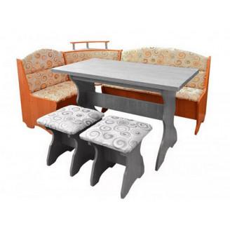 Кухонный уголок Пехотин Сенатор без стола и табуретов