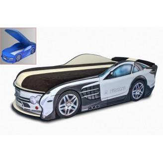 Кровать-машинка с матрасом AvtoUA Mercedes с механизмом