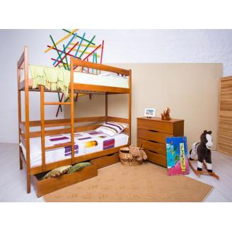 Кровать двухъярусная Олимп Амели с ящиками