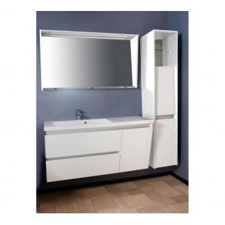 Комплект мебели для ванной Fancy Marble Cyprus/Peggy 1250 L/R Белый