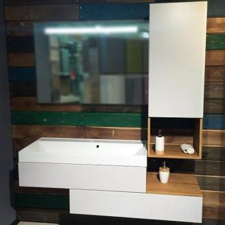 Комплект мебели для ванной Fancy Marble Tristan/Mersey Белый