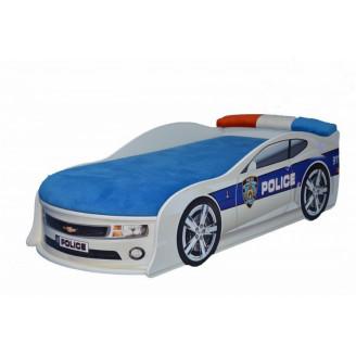 Кровать-машинка с матрасом AvtoUA Chevrolet Camaro Полиция