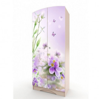 Шкаф платяной Вальтер Природа-80
