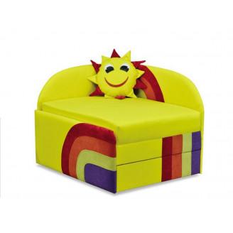 Детский раскладной диван Вика Солнышко (Классическая софа)