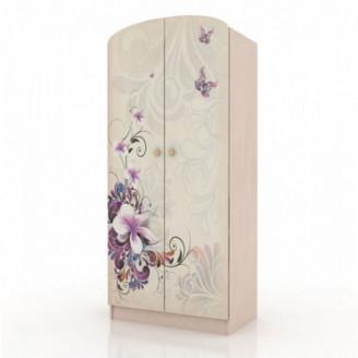 Шкаф платяной Вальтер Бабочки-80