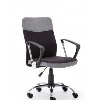 Офисное кресло Halmar Topic Черный + пепельный