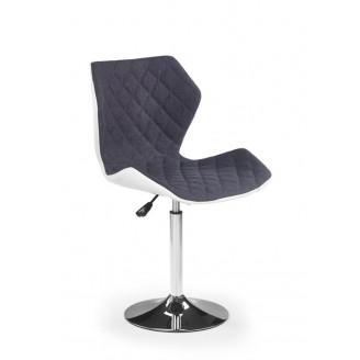 Кресло Halmar Matrix 2 Белый + пепельный