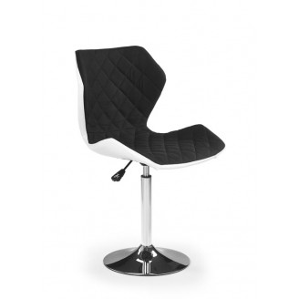 Кресло Halmar Matrix 2 Белый + черный