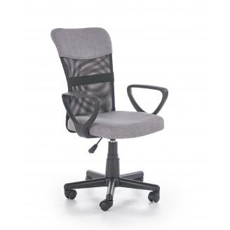 Офисное кресло Halmar Timmy Черный + пепельный
