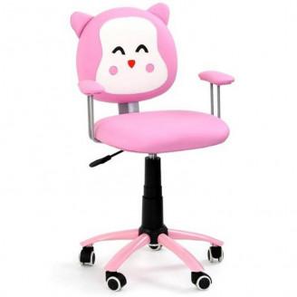 Детское кресло Halmar Kitty Розовый