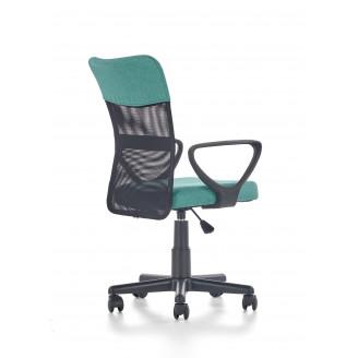 Офисное кресло Halmar Timmy Черный + бирюзовый