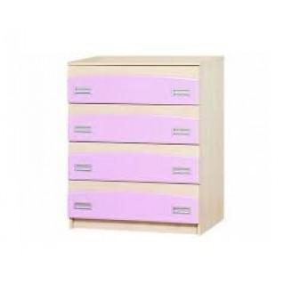Комод Мир Мебели Терри Розовый У-1