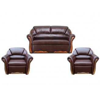 Комплект Вика Бостон Люкс 211 (с раскладными креслами)