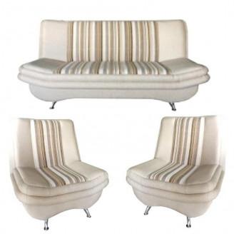 Комплект МКС Твикс (диван раскладной и 2 кресла)